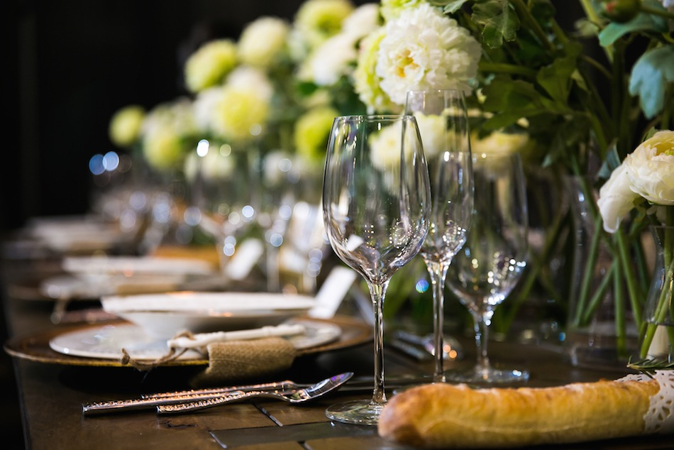 Wedding Tabletop Design