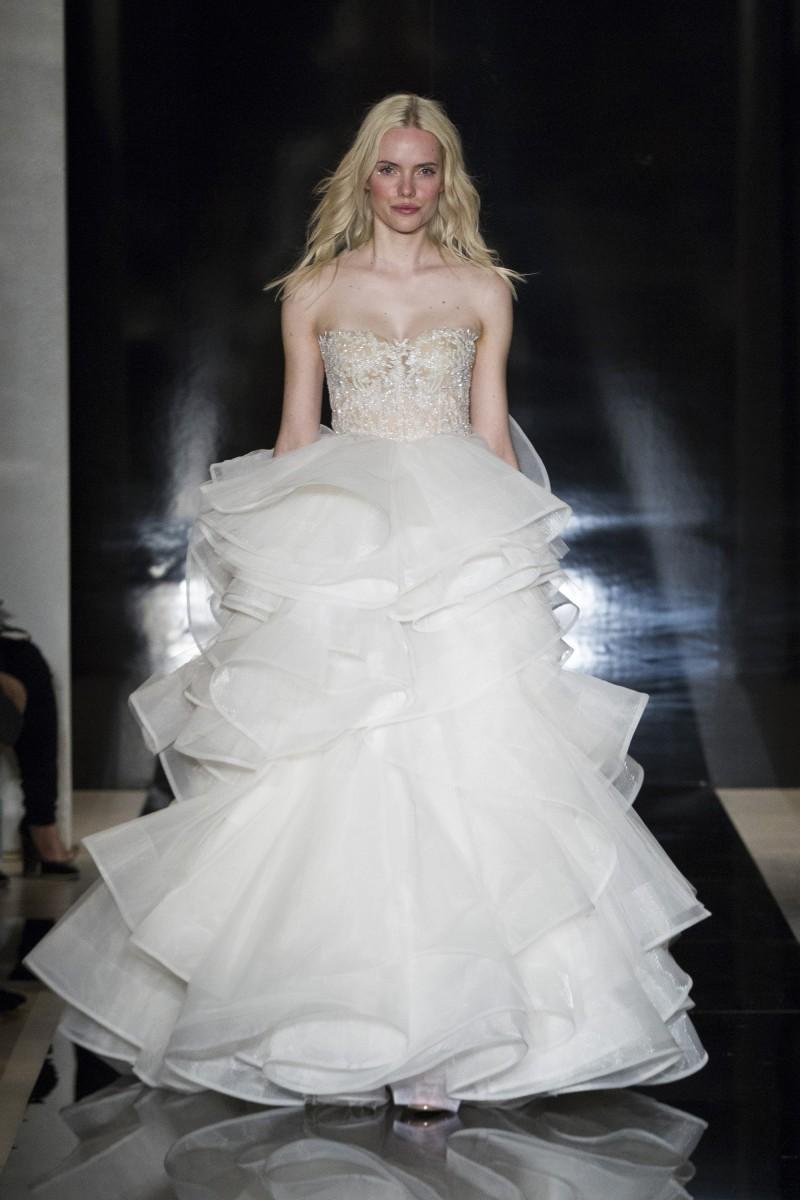 15 Best Celebrities in Reem Acra Wedding Gowns images ...