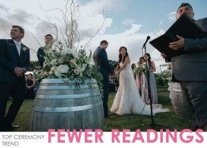 2017 Wedding Ceremony Trends