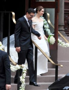 Celebrity Watch: Emmy Rossum and Sam Esmail's Memorial day Nuptials