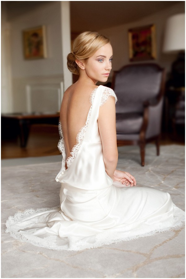 low-back-bridal-gown - The Wedding Guys