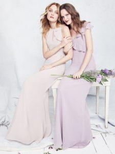 Designer Feature: Monique Lhuillier Bridesmaids