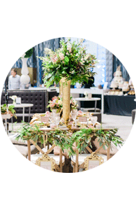 Floral wedding inspiration at Unveiled Rochester bridal show