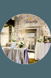 Wedding venue exhibit at Unveiled Rochester