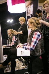Glam 2 Go Makeover Zone at Twin Cities Bridal Show