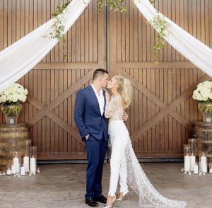 Celebrity Wedding: Ryan Lochte and Kayla Rae Reid