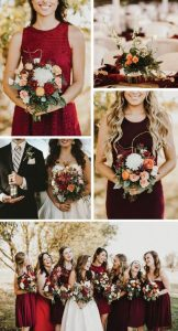 Fall Wedding Color Schemes