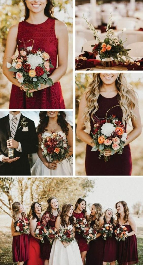 Fall Wedding Color Schemes The Wedding Guys