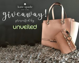 WIN A Kate Spade Handbag From UNVEILED