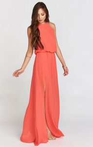 How to incorporate Living Coral into your bridal party!