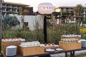 Dessert table at Destination Wedding