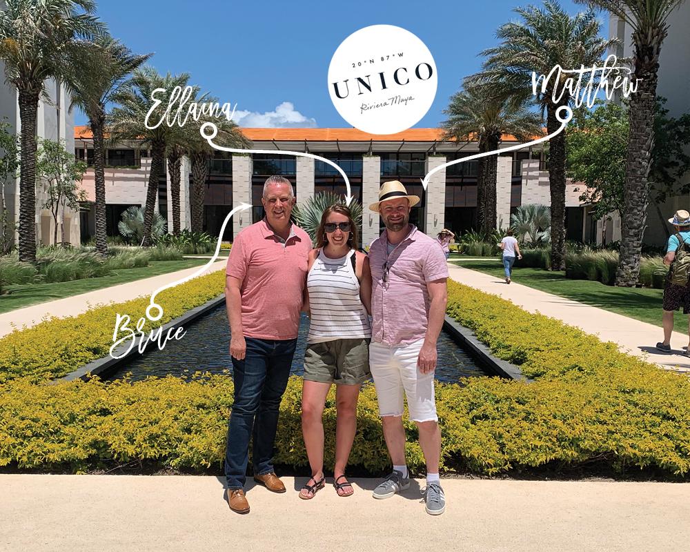 Group visits Mexico resort UNICO 20°87°