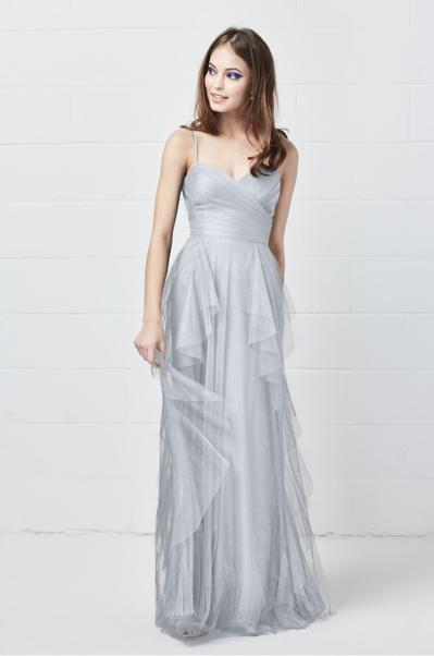 Blue gorgeous bridesmaid dresses