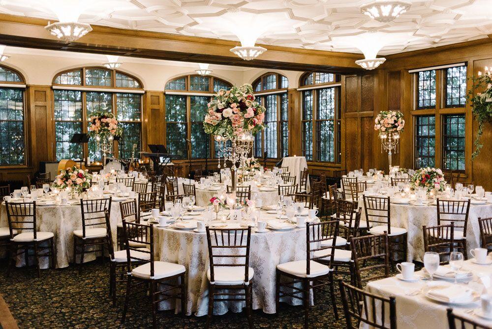 Historic Minnesota wedding venue reception
