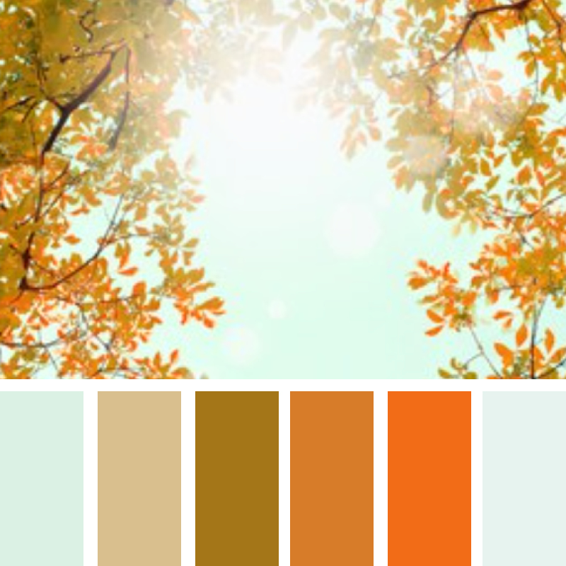 Modern colors for your fall wedding