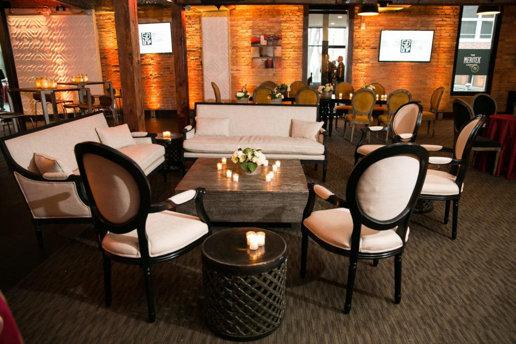 BeThings wedding furniture rental wedding lounge setup