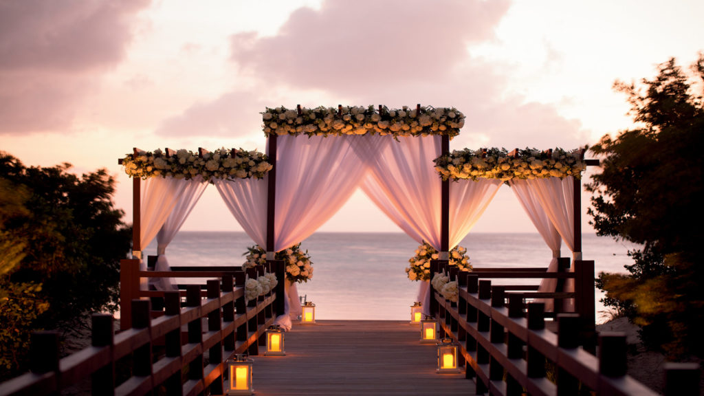 Ceremony to get married in Aruba