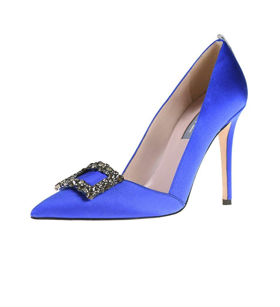 SJP Collection dark blue shoes