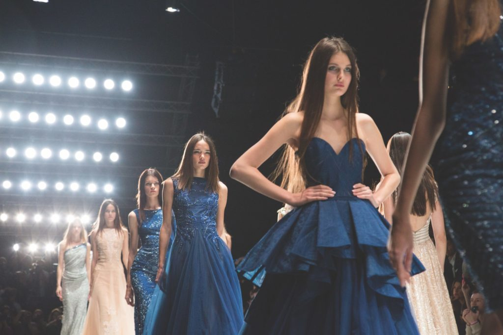 2020 Pantone Color of the Year Classic Blue dresses