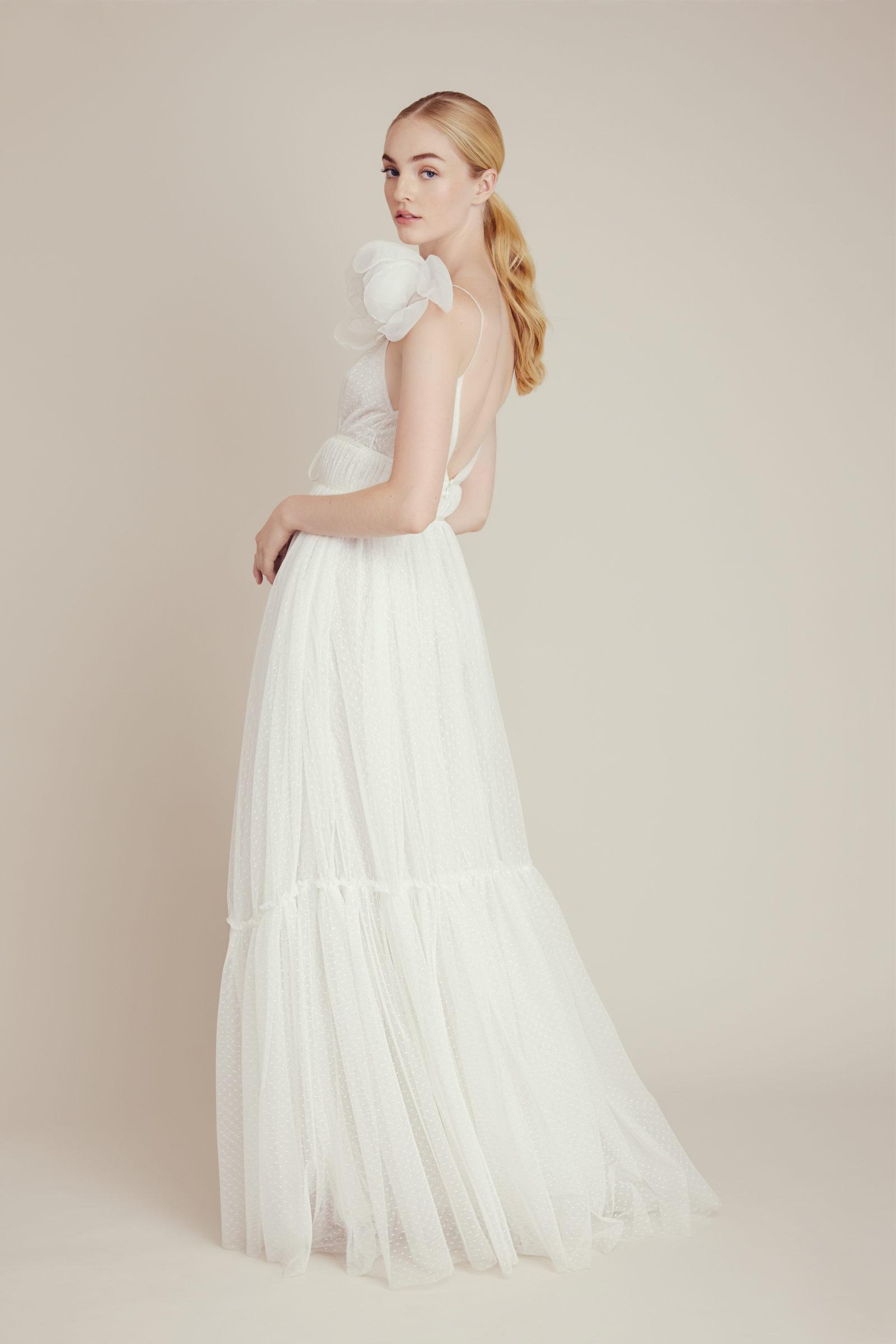 Lela Rose bridal gown