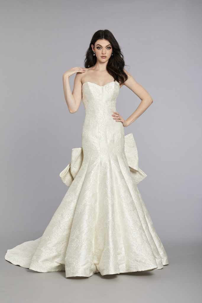 Matthew Christopher bridal gown
