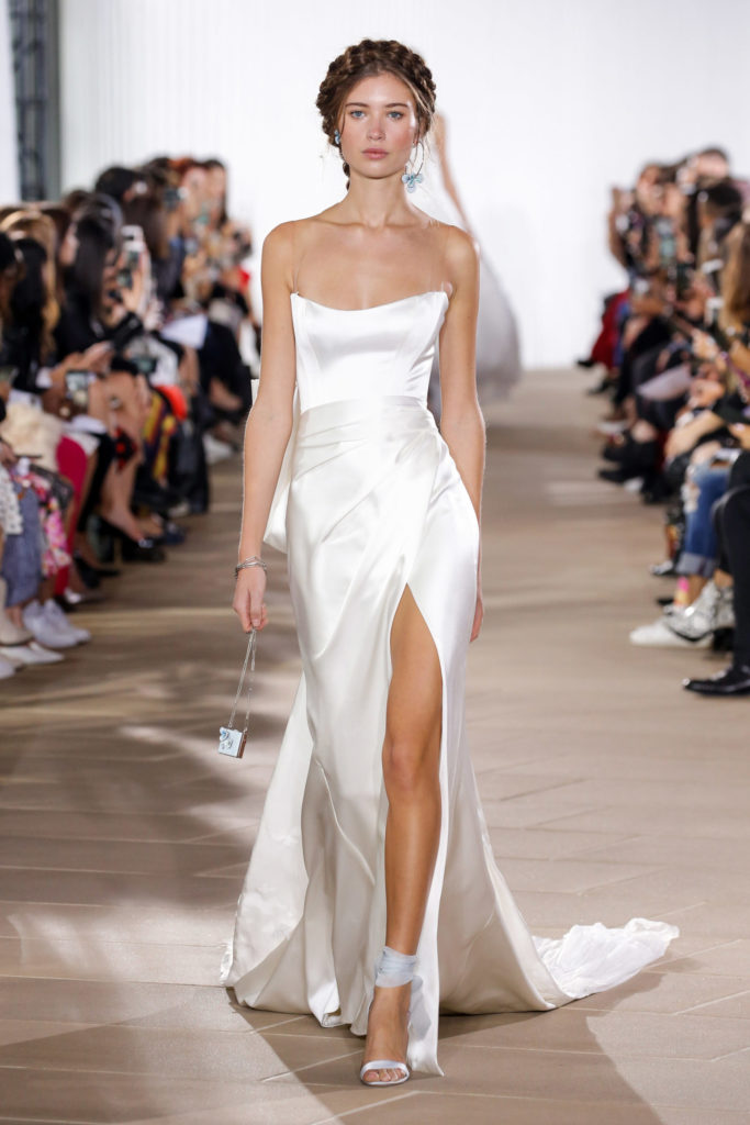 Couture Ines Di Santo strapless gown to look like a celeb on your wedding day