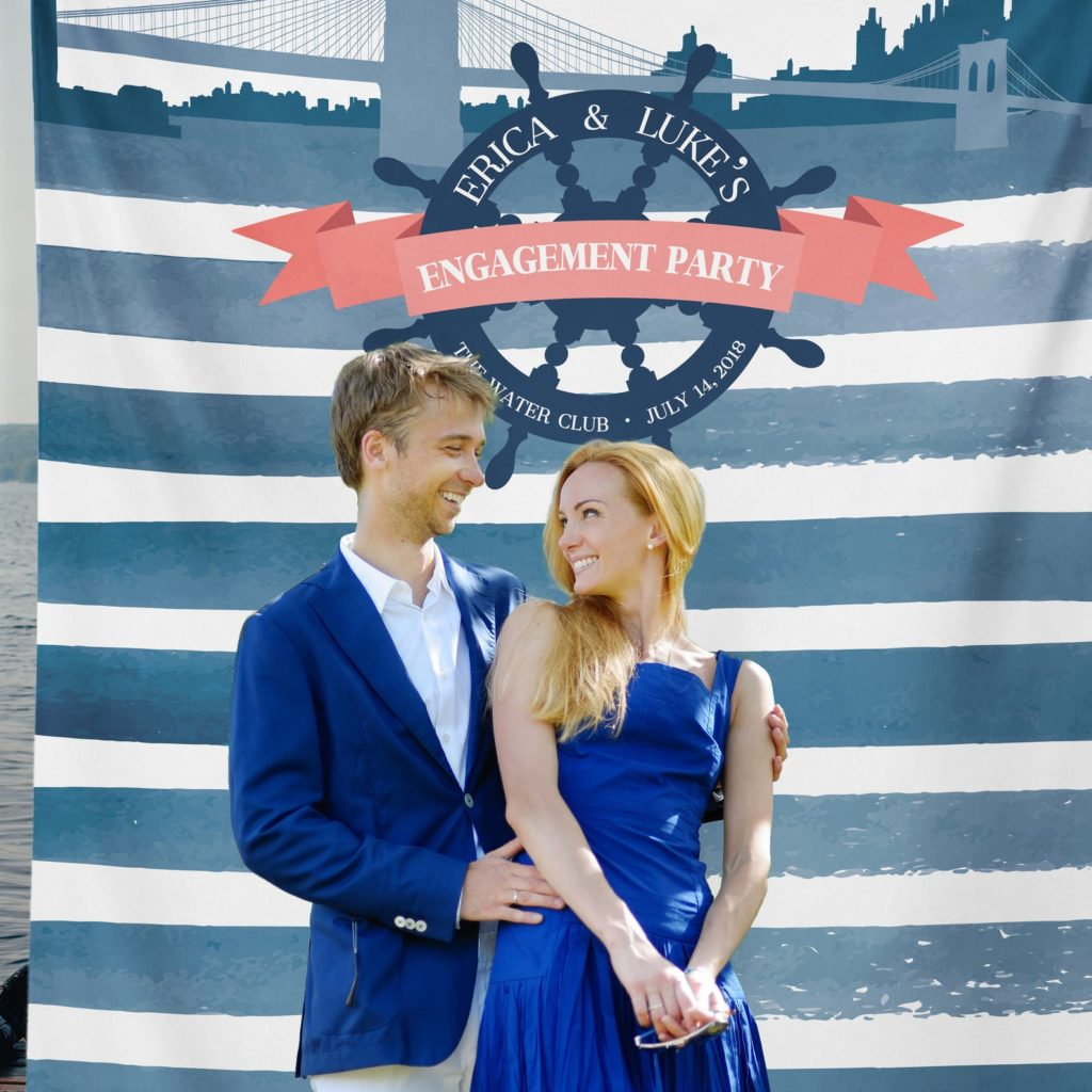 Maritime fun engagement party themes