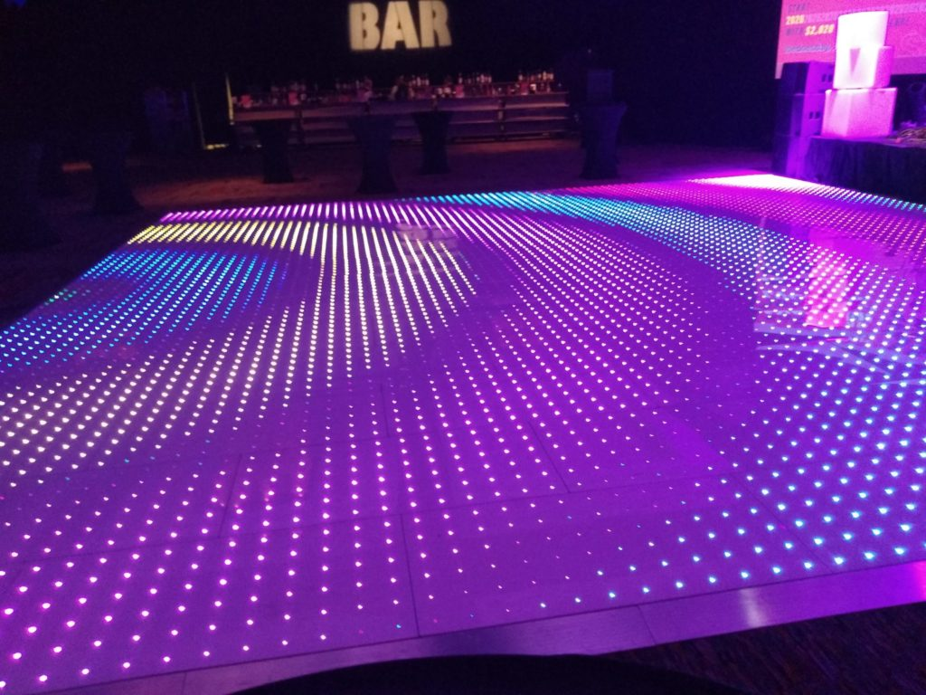 LED light is the new dance floor you have to see