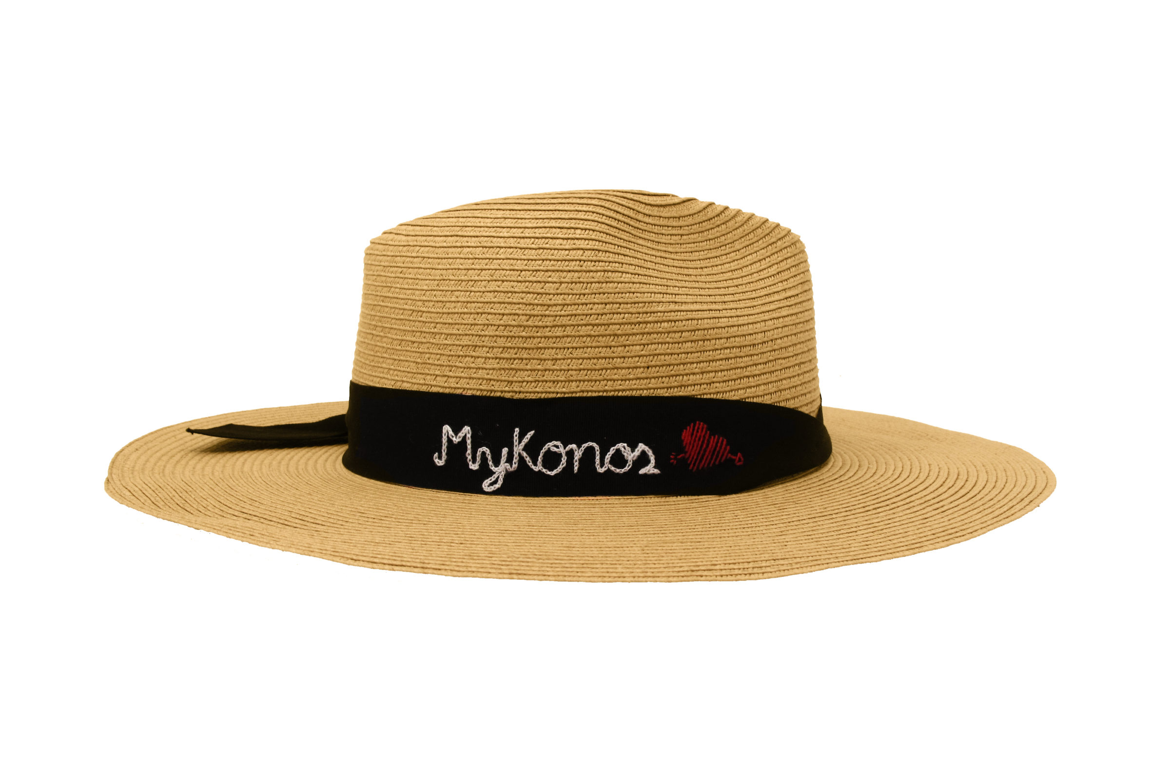 Beachy hat to wear on your honeymoon