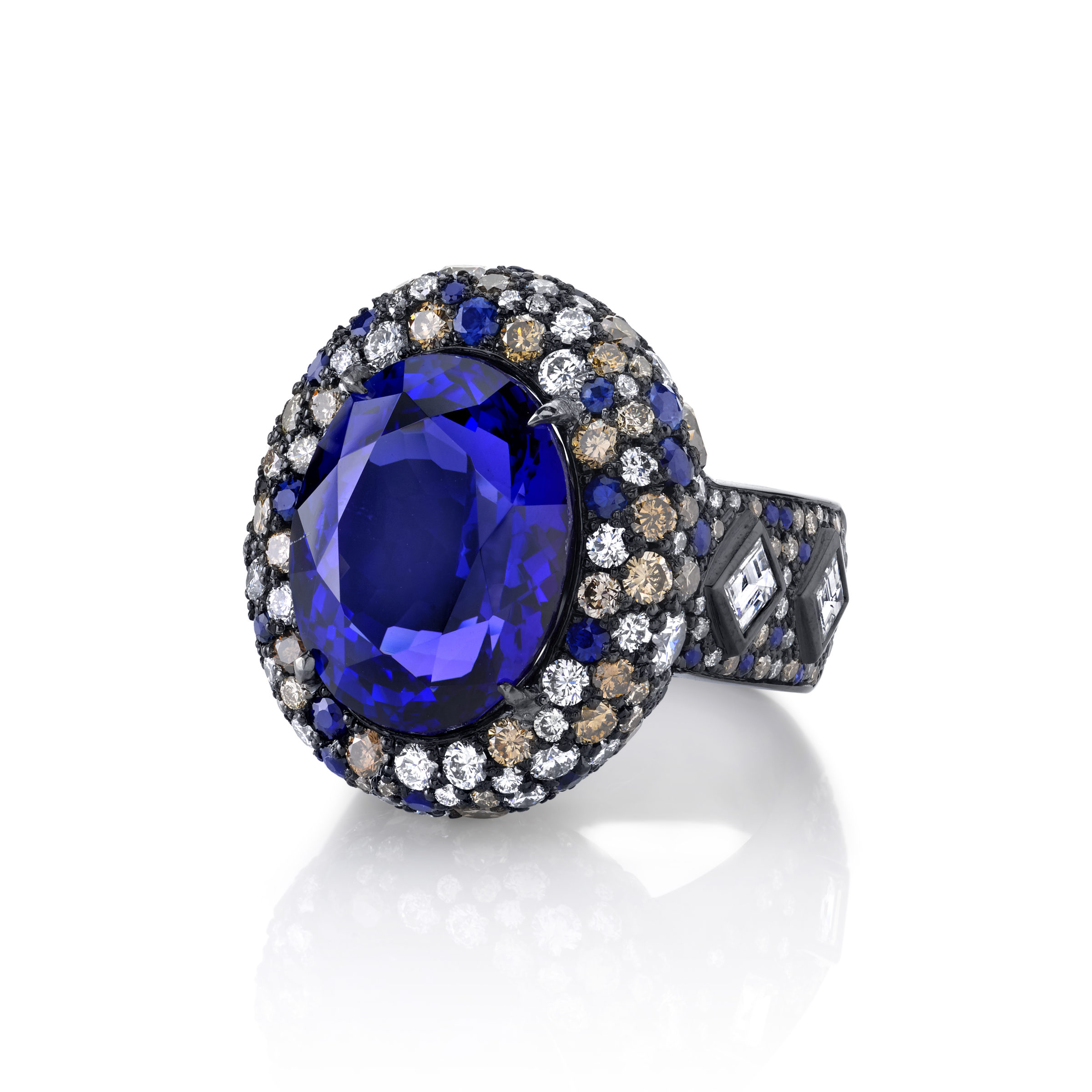 Something blue for your wedding blue ring