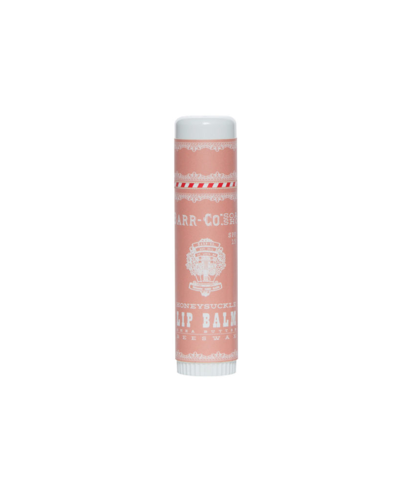 Honeysuckle lip balm