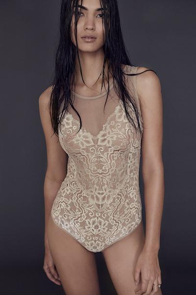 Nude modest lingerie