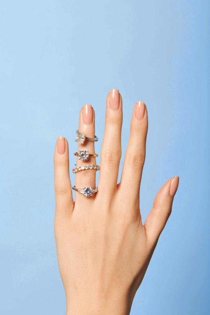 DIY manicure for brides