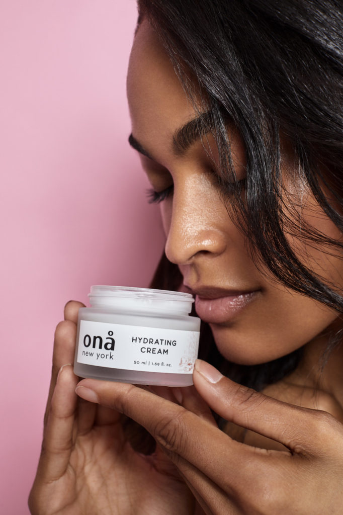 Clean beauty hydrating cream
