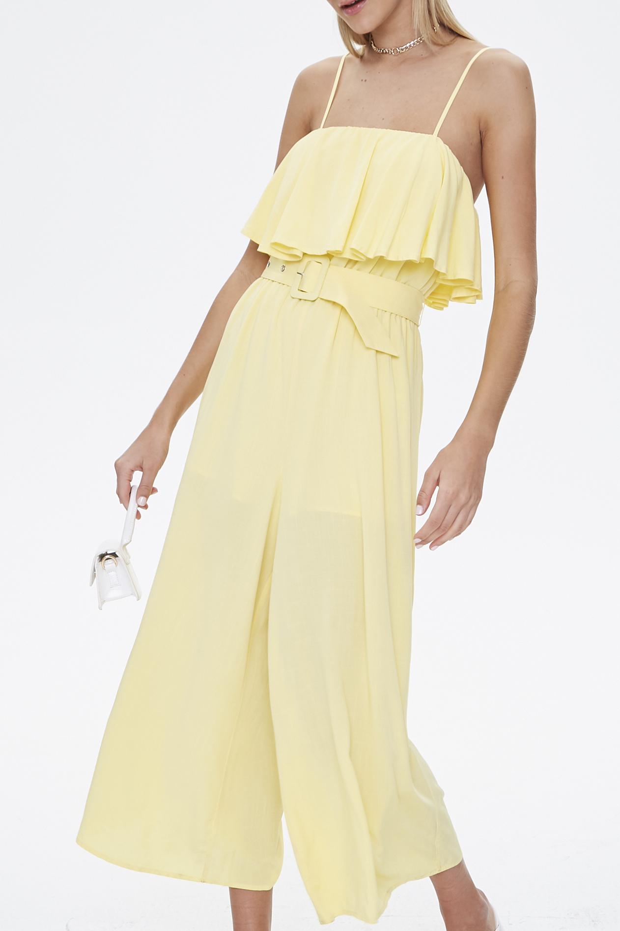 Light yellow jumpsuit