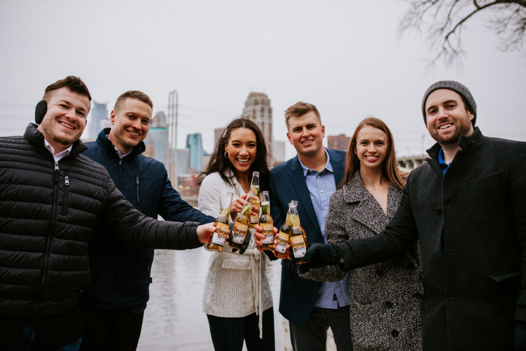 Couple marries in Minneapolis during pandemic