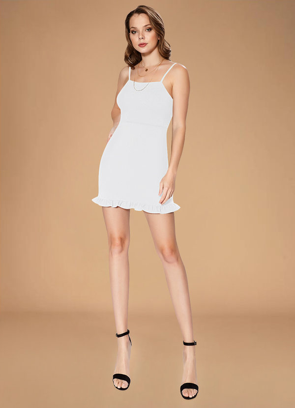 Short dress for mirco wedding