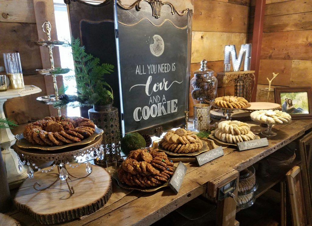 Cookie dessert bar