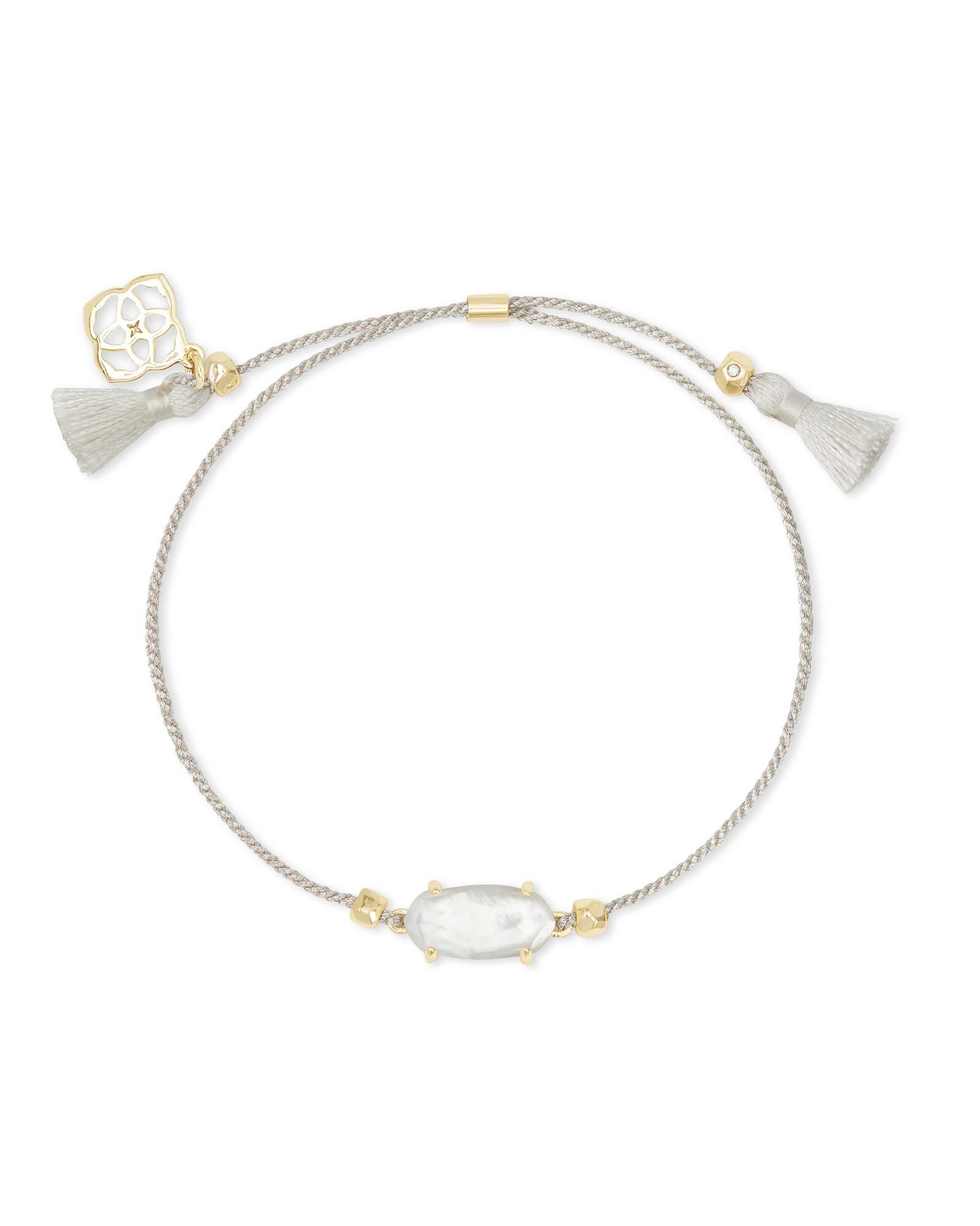 Ivory and gold kendra scott bracelet