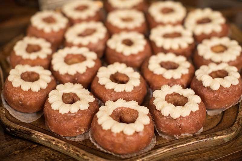 Donuts as wedding dessert