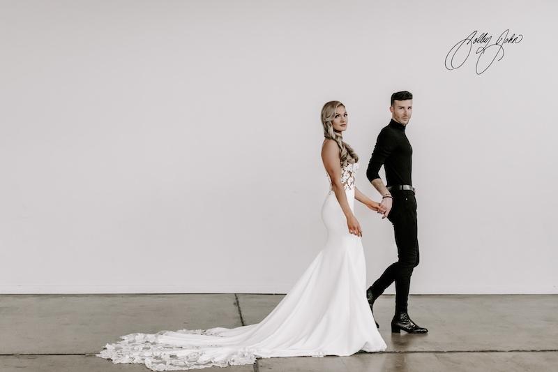 Flutter Bridal Co. designer
