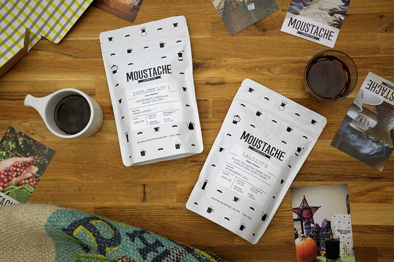 Coffee bean bags great gifts for father's day by The Coffee Moustache Club