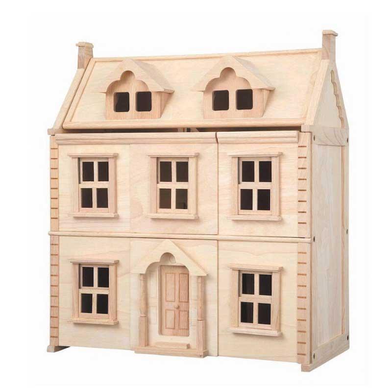 Wooden dollhouse flower girl gift