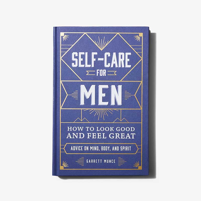 """""""Self-Care for Men"""" book by BeSpokePost as Great Gifts for Father's Day"""
