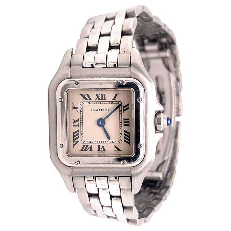Quartz watch from Cartier