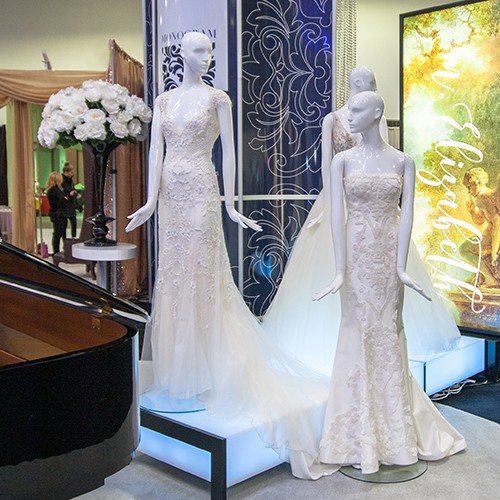 The Monogram experience at Unveiled Minneapolis Bridal Show