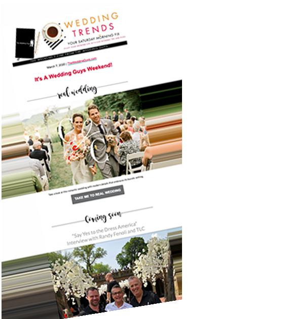 Newsletter for Minnesota wedding planning