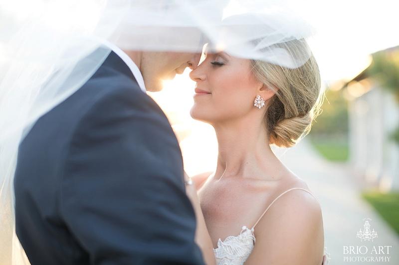 Wedding photographer captures bride and groom
