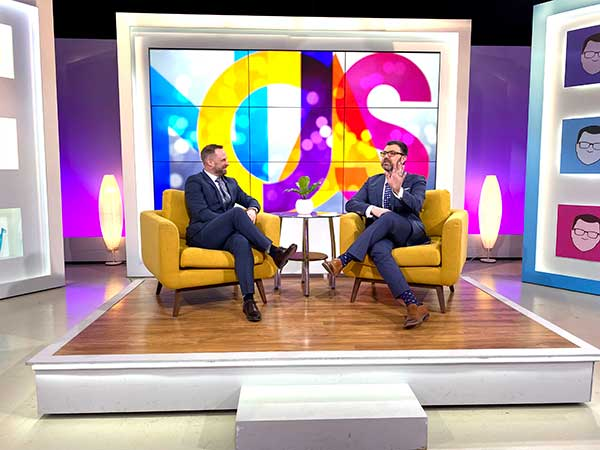 Matthew Trettel of The Wedding Guys is featured on The Jason Show