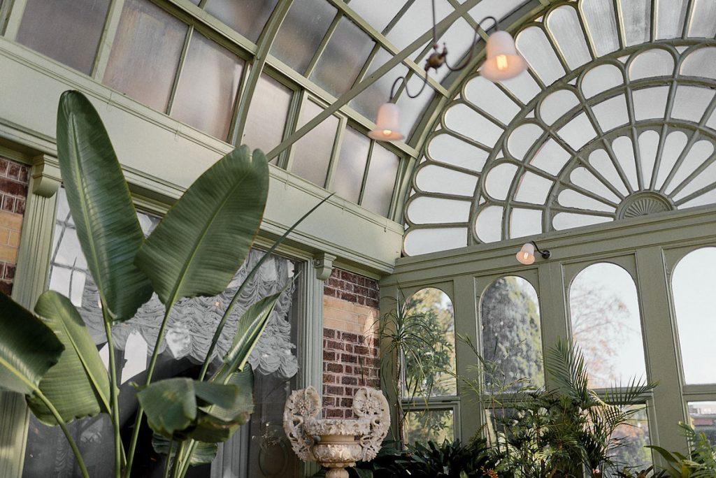 Conservatory wedding location